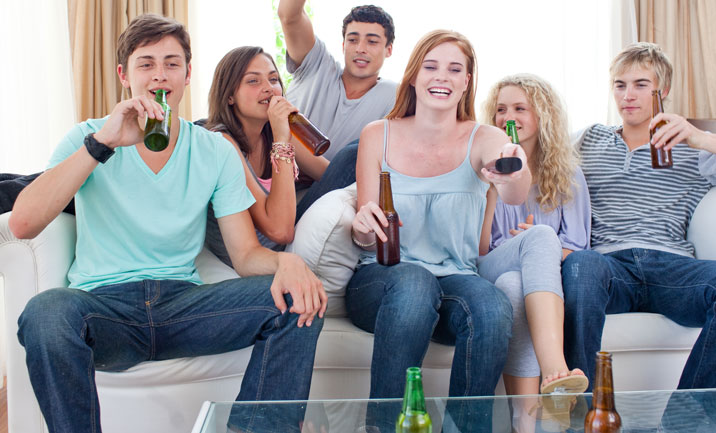 Teens Drinking at Parties = Insurance Issues