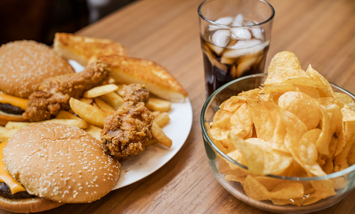 Study: Processed Food Diet Can Put on the Pounds