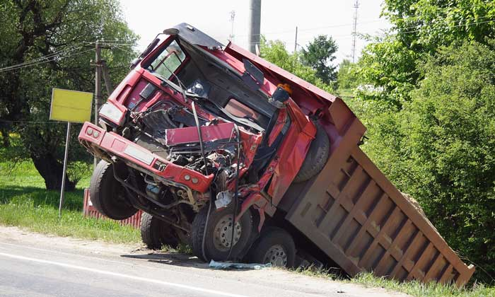 As Dump Trucks Grow Longer, Tip-overs Increase